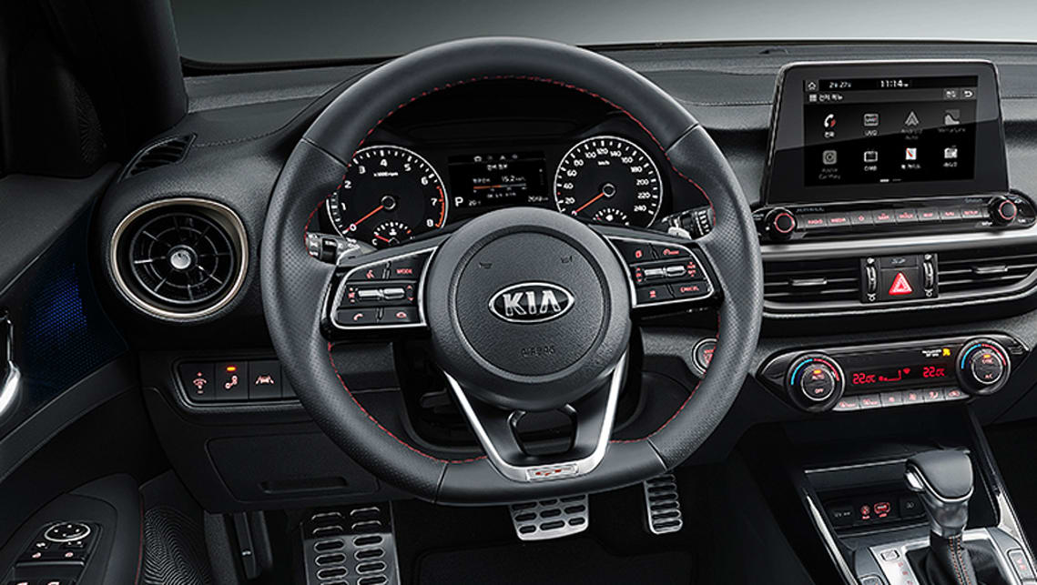 The Aussie version of the new GT should include a flat-bottom steering wheel.