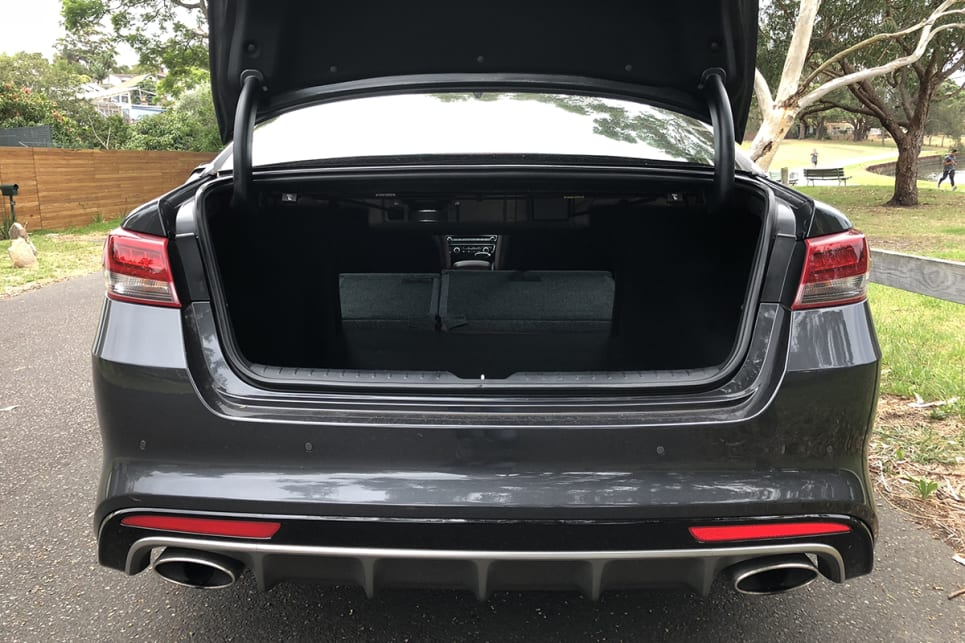 The 60/40 split rear seats fold flat to boost your load-lugging potential.
