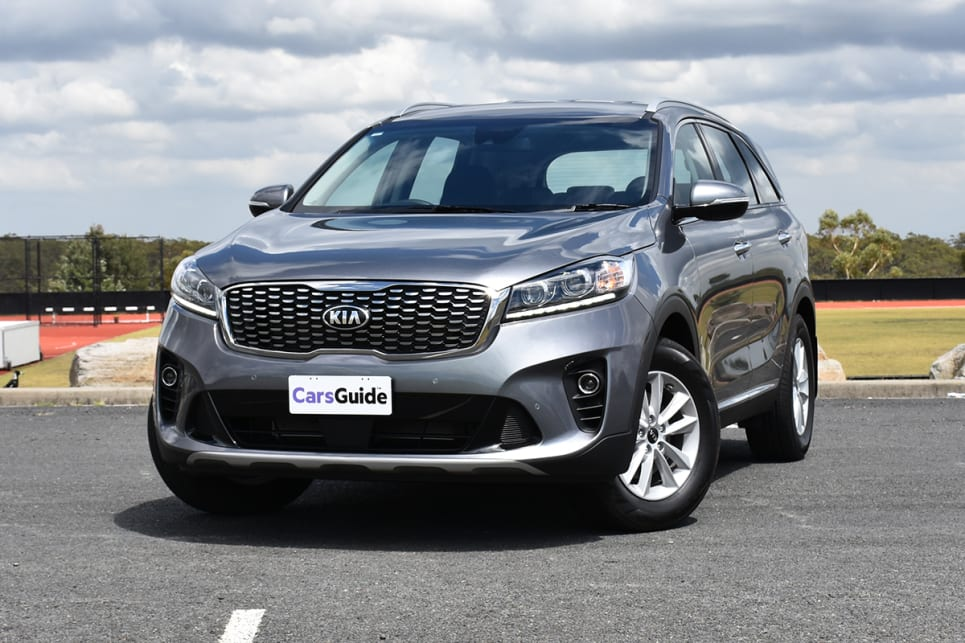 Kia's Sorento facelift for 2018 didn't necessarily make it any better to look at. (image credit: Thomas White)