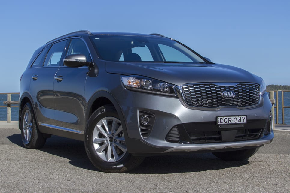 The magnificent seven seater: Kia's V6-powered Sorento is a winner. (image credit: Peter Anderson)