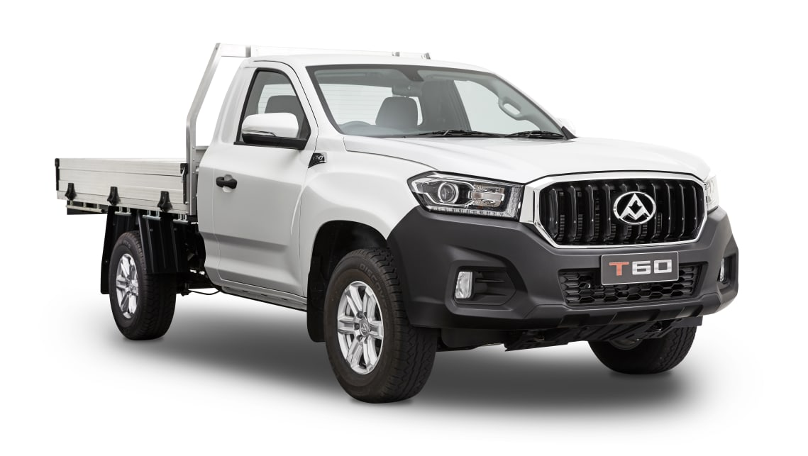 The new Cab Chassis version of the LDV T60 ute comes with a tray included and has five-star ANCAP safety according to the brand.