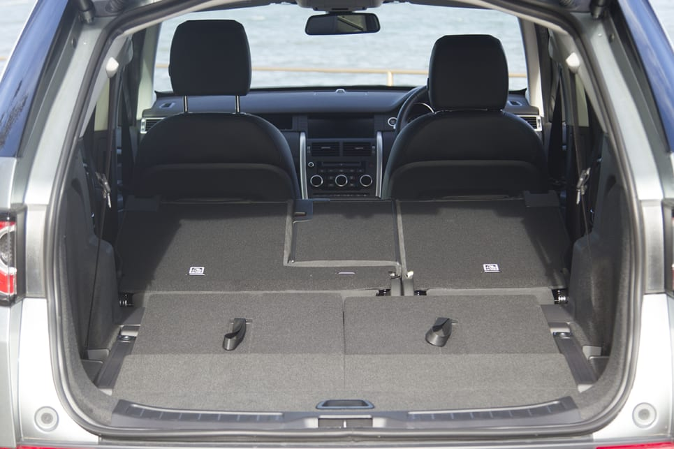 It has a maximum boot capacity of 1698 litres with all seats folded away. (image: Peter Anderson)