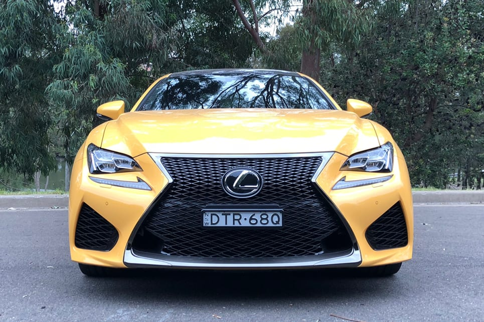 The RC looks terrific. (RC F pictured) (image: Andrew Chesterton)