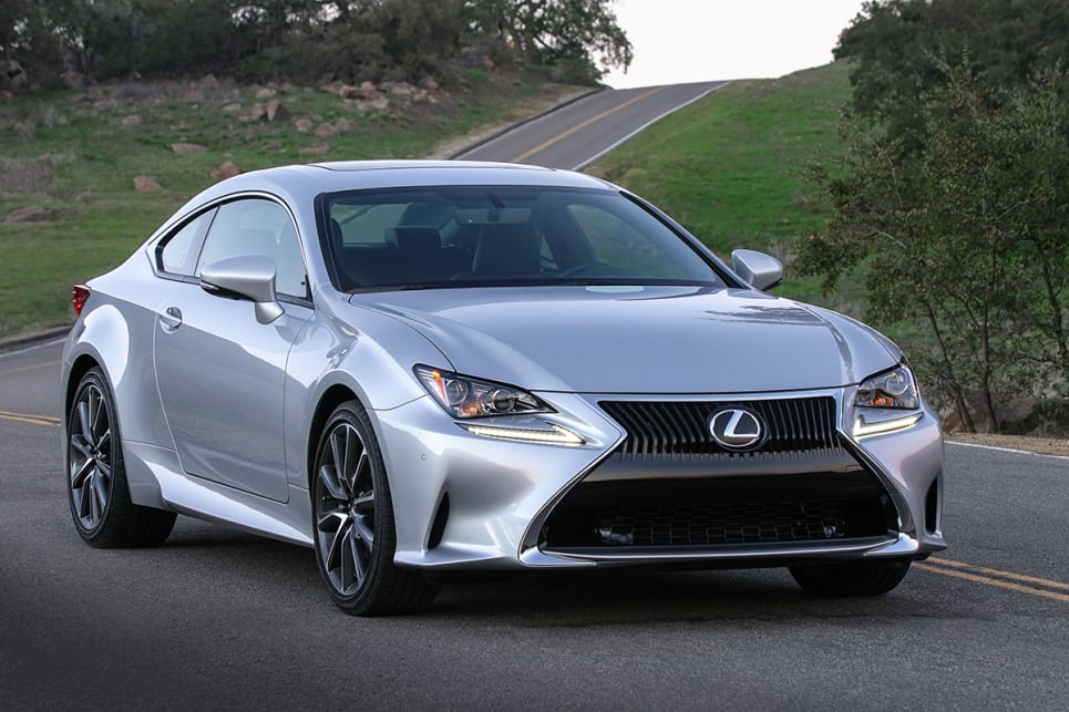As it is with most of the Lexus range, the RC model comparison is pretty straightforward. (RC300 pictured)