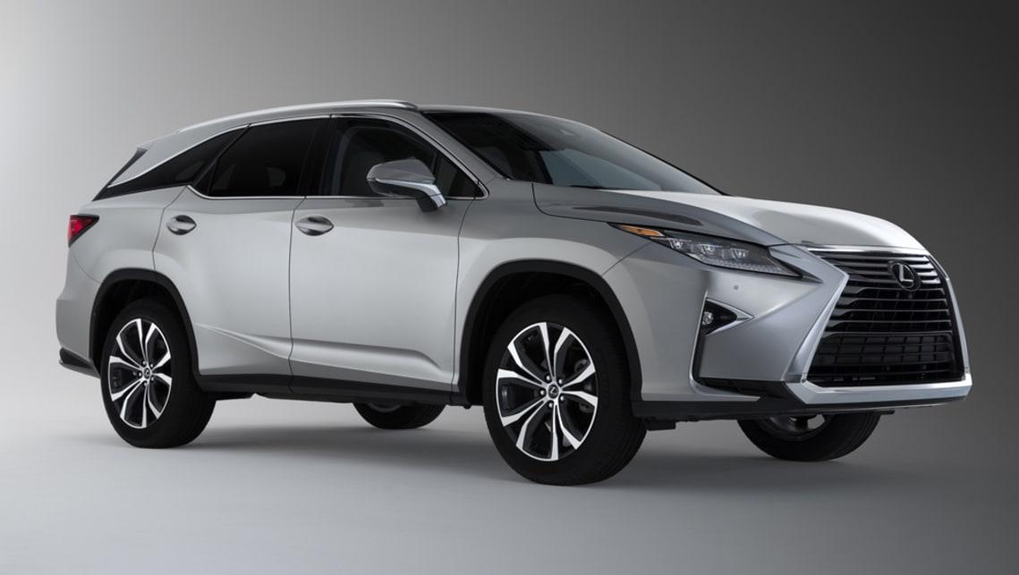 Lexus 7 Seater Suv >> Lexus Rx L 2018 Revealed In La Car News Carsguide