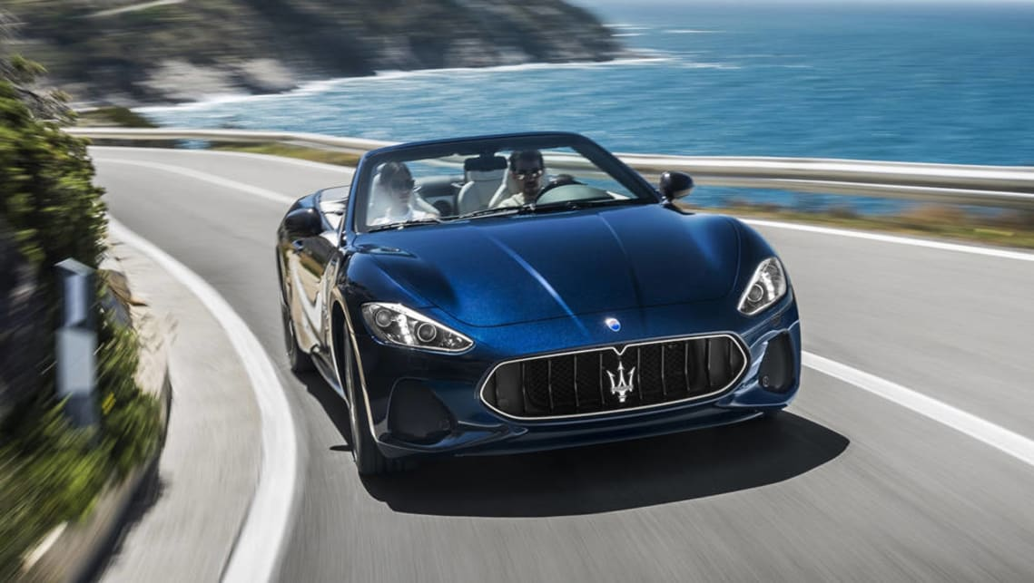 Maserati's luxury grand tourer has received a handful of styling changes including a new front end.