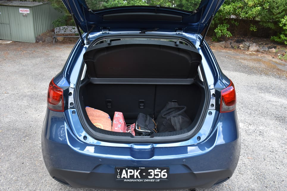 Luggage capacity is rated at 250 litres (VDA) which swallowed our weekend bags with ease.