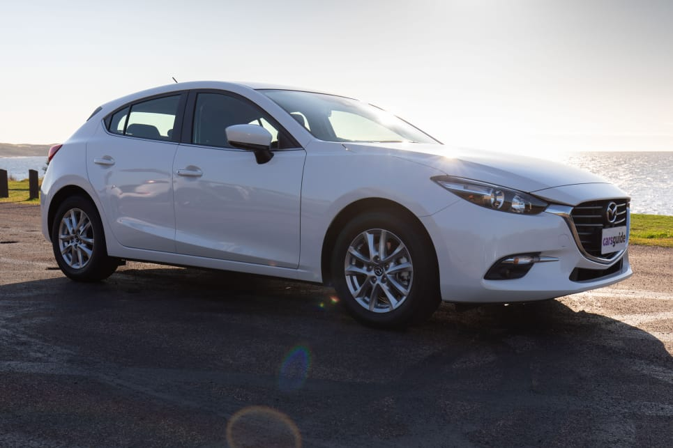 The Mazda3 has been a big seller, largely because of its attractive styling.