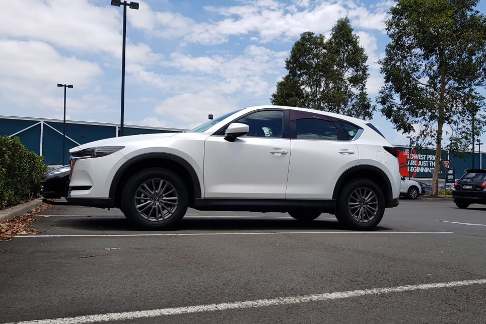 We spent plenty of time in it working the CX-5 hard and to capacity.