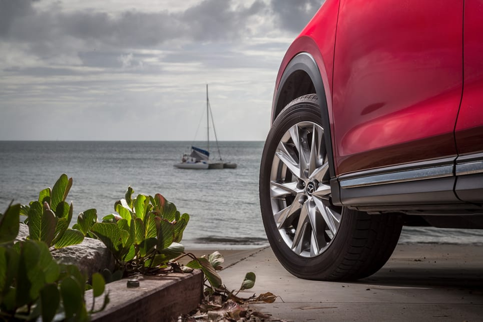 The Sport comes with 17-inch alloys. (CX-8 Asaki pictured)