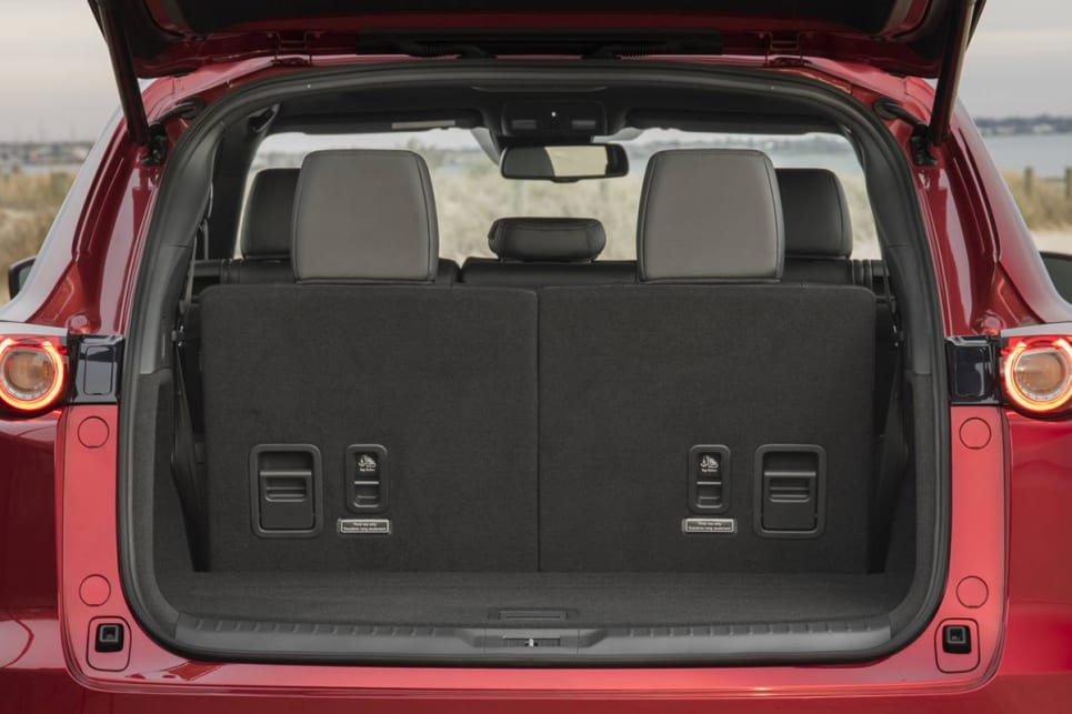 Official figures have the space at 230 litres (VDA) with seven seats in use.