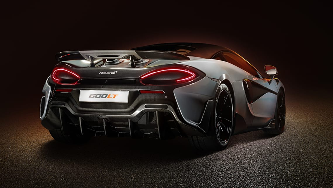 The Longtail name is reserved for McLaren's most-hardcore offerings.