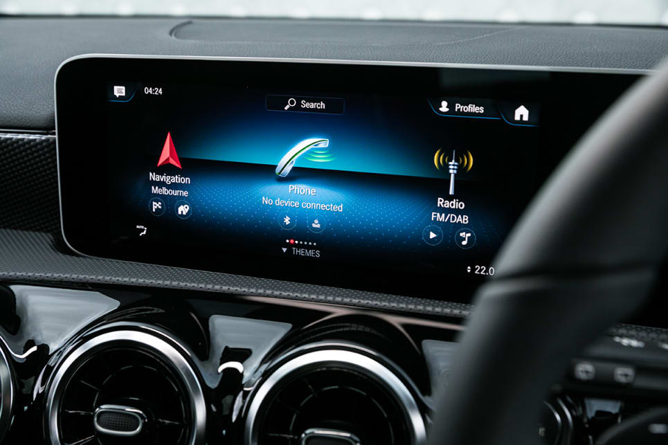 Among many standard features, the A200 receives sat nav, apple CarPlay and Android Auto, and a nine-speaker stereo.