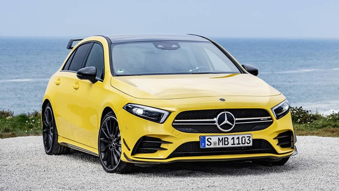 Mercedes Amg A35 4matic 2019 Revealed Ahead Of Paris Car News