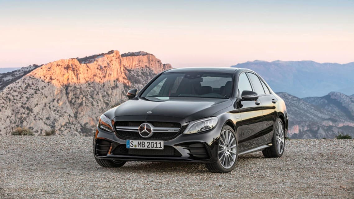 The C43 gets a sizeable power bump as part of the broader mid-life revamp of the C-Class range.