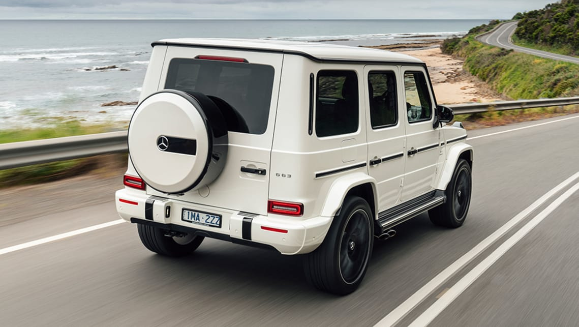 The G63 is now 110mm longer and 106mm wider.