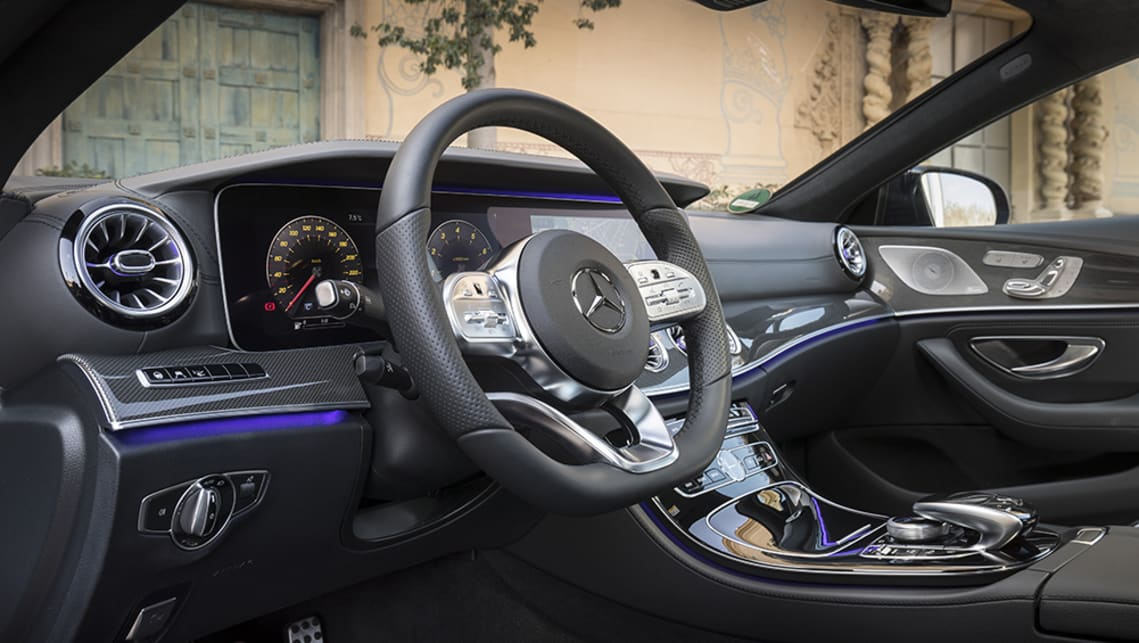 Items that will be fitted to all CLS models include twin 12.3-inch displays, ambient lighting with illuminated air vents, and a head-up display.