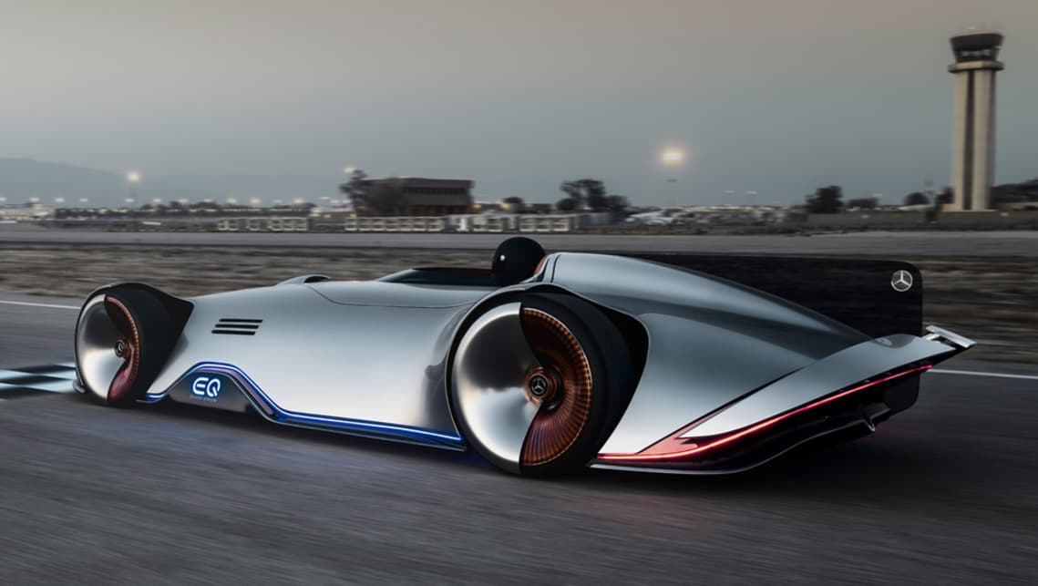 Mercedes-Benz Vision EQ Silver Arrow points the way forward