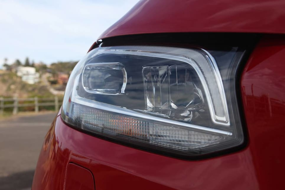 The optional 'Style pack' includes LED headlights and tail-lights.