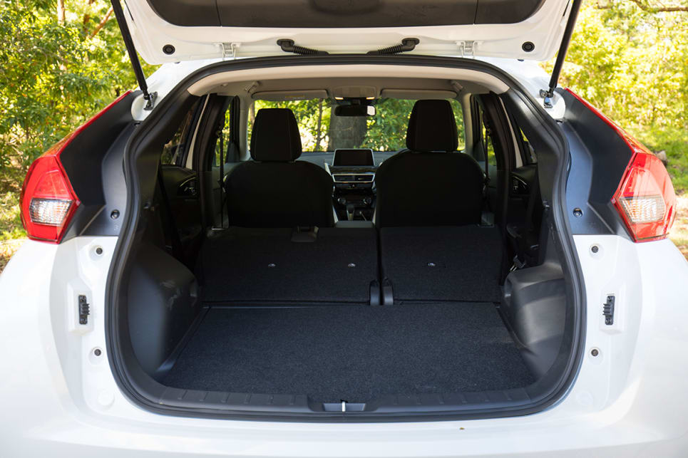 There is more boot space than a typical small SUV.