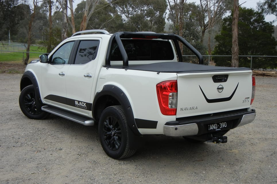 The Navara N-SPORT Black Edition is limited to 500 units.
