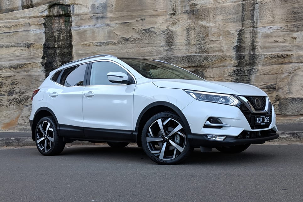 This latest Qashqai is definitely one of the better-looking SUVs in its class.