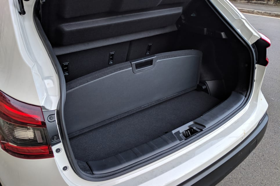 The boot also features two handy secret underfloor compartments for additional storage.