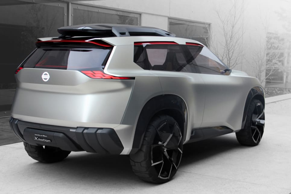 The Japanese manufacturer has said the exterior gives a hint as to the future design direction of its SUVs.