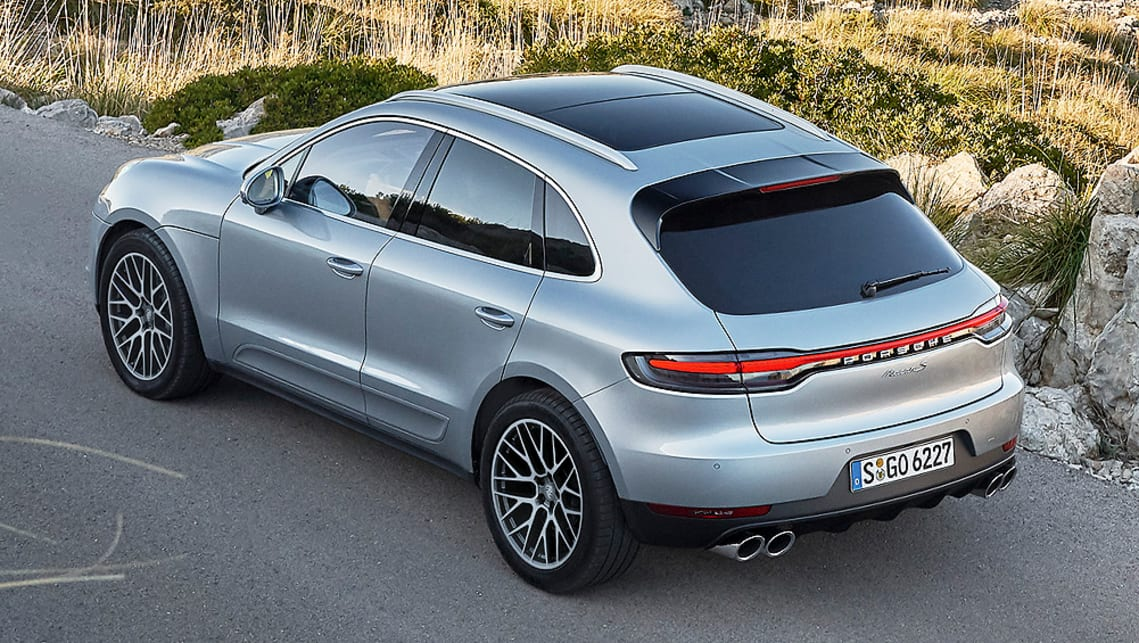 Porsche will also offer an optional 'Porsche Ceramic Composite Brake' (PCCB) package to the Macan.