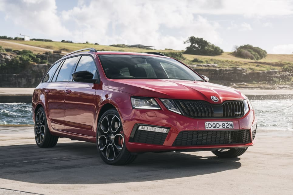 The Skoda Octavia offers liftback or wagon bodystyles, a wide range (including the hot RS245 pictured) and a five-year warranty.