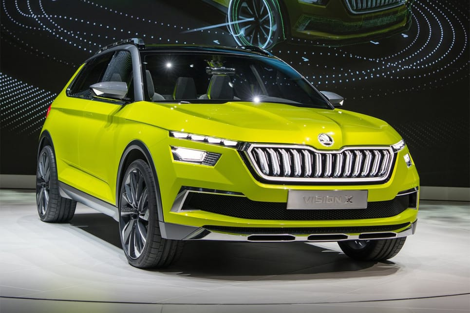 A small SUV previewed by the Vision X Concept unveiled at this year's Geneva show, and due in the second half of 2020.