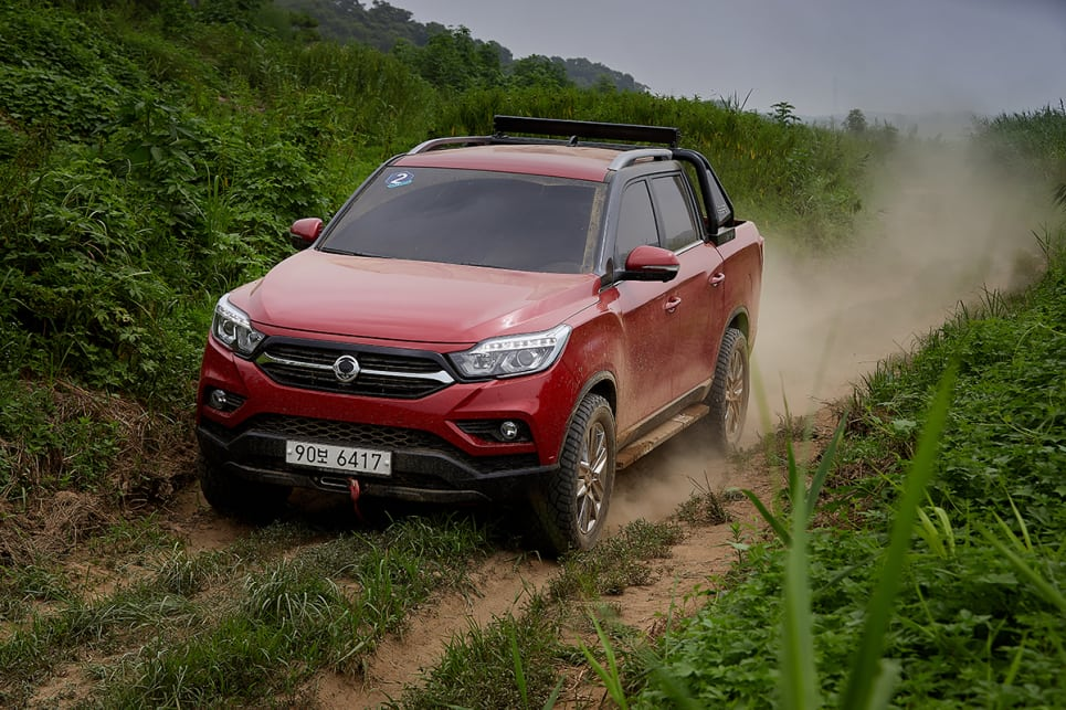 2018 SsangYong Musso.