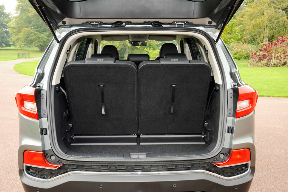 With seven seats in play, the cargo capacity will be 649 litres (VDA).
