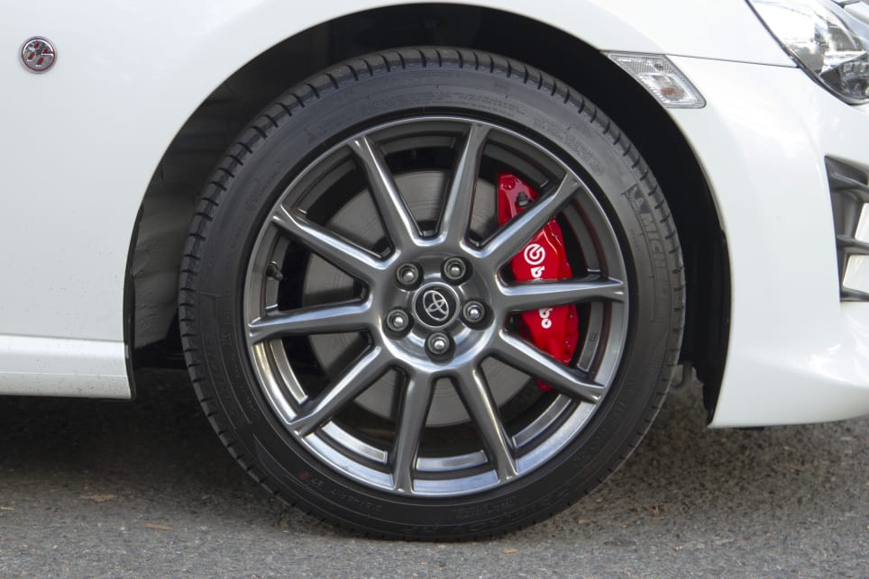 16 and 17-inch wheels are available on the GT and GTS-specs, respectively.