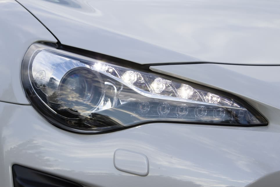 Standard features include LED headlights and daytime running lights.