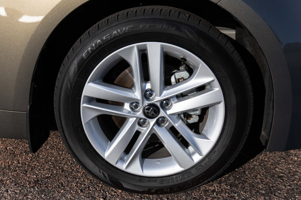The Corolla's alloys aren't extravagant, but it's a really interesting design.