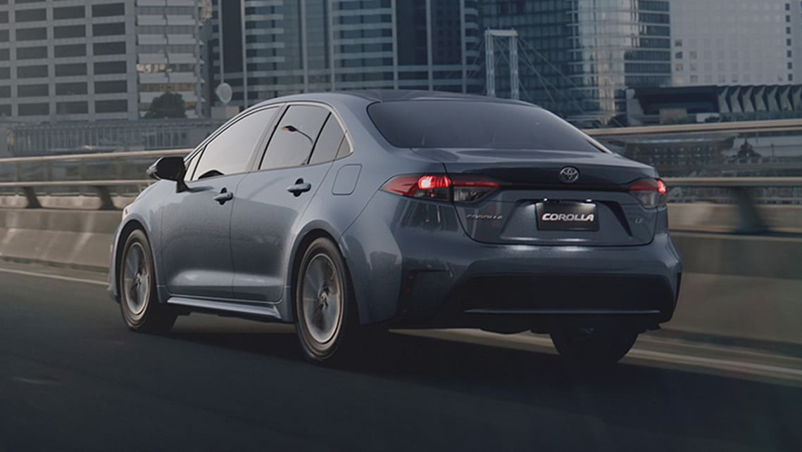 The sedan boasts a lower centre of gravity, and new multi-link rear suspension and revised front suspension is said to deliver a sportier driving experience.