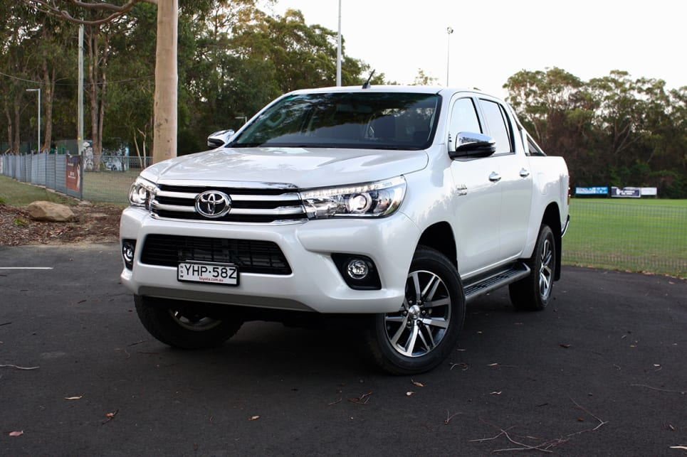 Nothing has changed cosmetically for the 2018 Toyota HiLux. (2018 Toyota HiLux SR5 model shown)