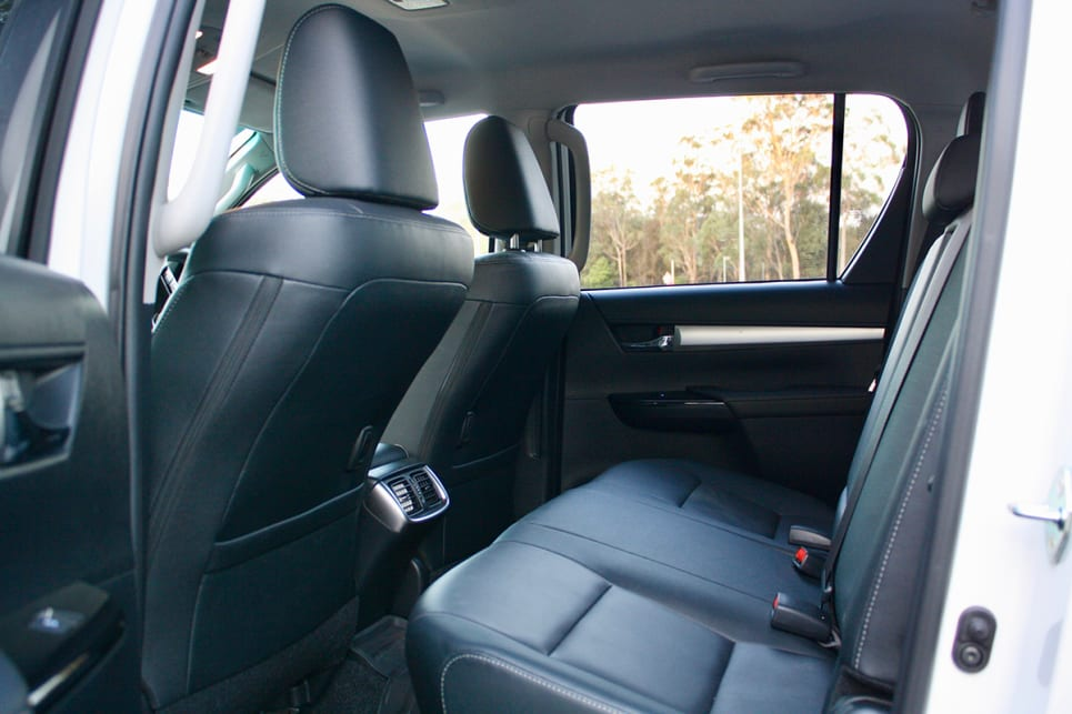 It goes without saying: a dual cab is the most person-friendly version, with five seats on offer.