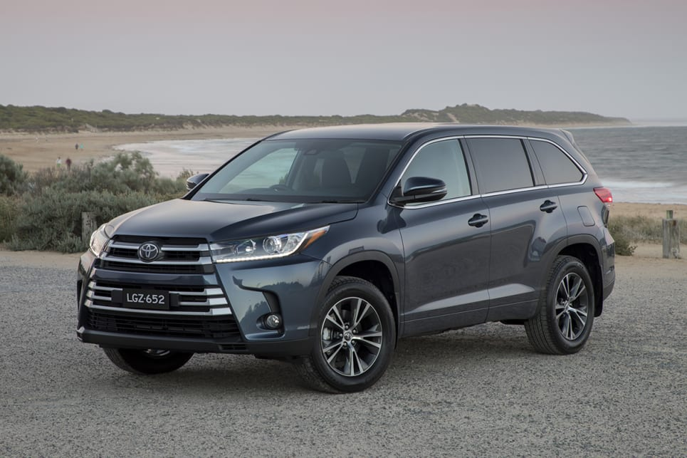 Toyota Kluger Gx 2018 Review Snapshot Carsguide