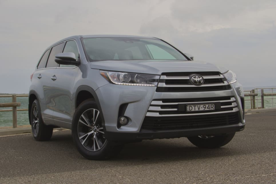 The Kluger is a strong seller for Toyota, having been around for ages. (image credit: Peter Anderson)