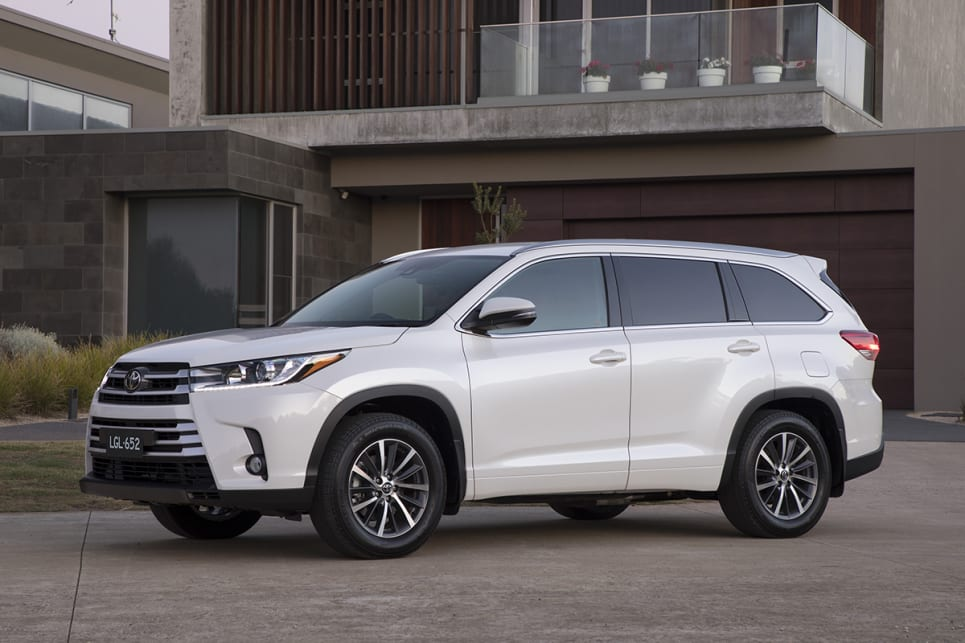 Toyota Kluger Gxl 2018 Review Snapshot Carsguide