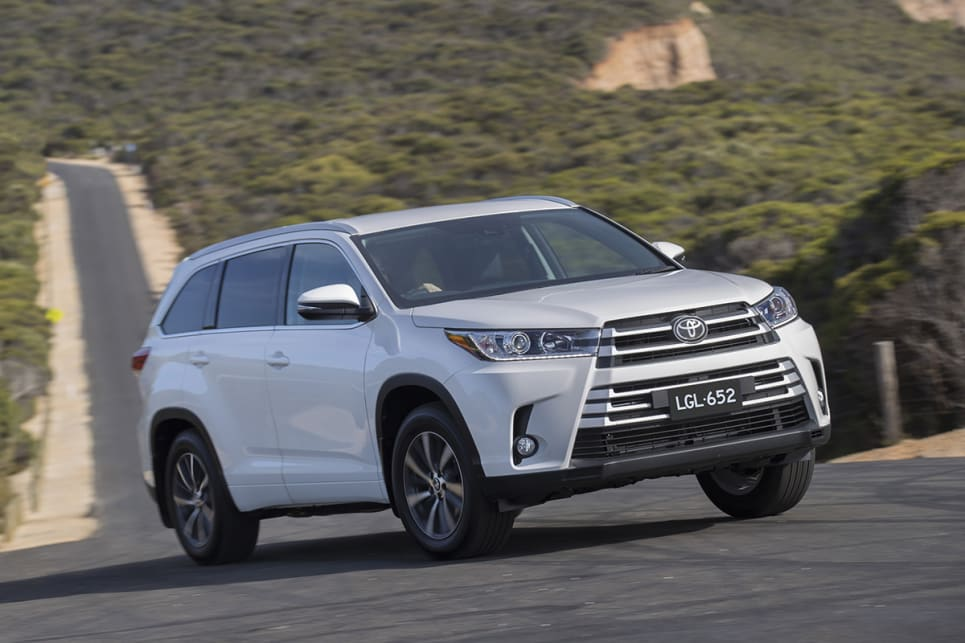 Toyota Kluger Grande 2018 Review Snapshot Carsguide