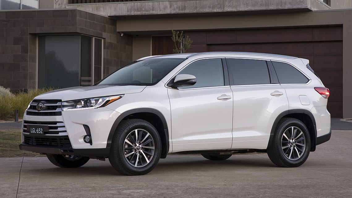 Toyota Kluger 2018 pricing and specs confirmed - Car News ...
