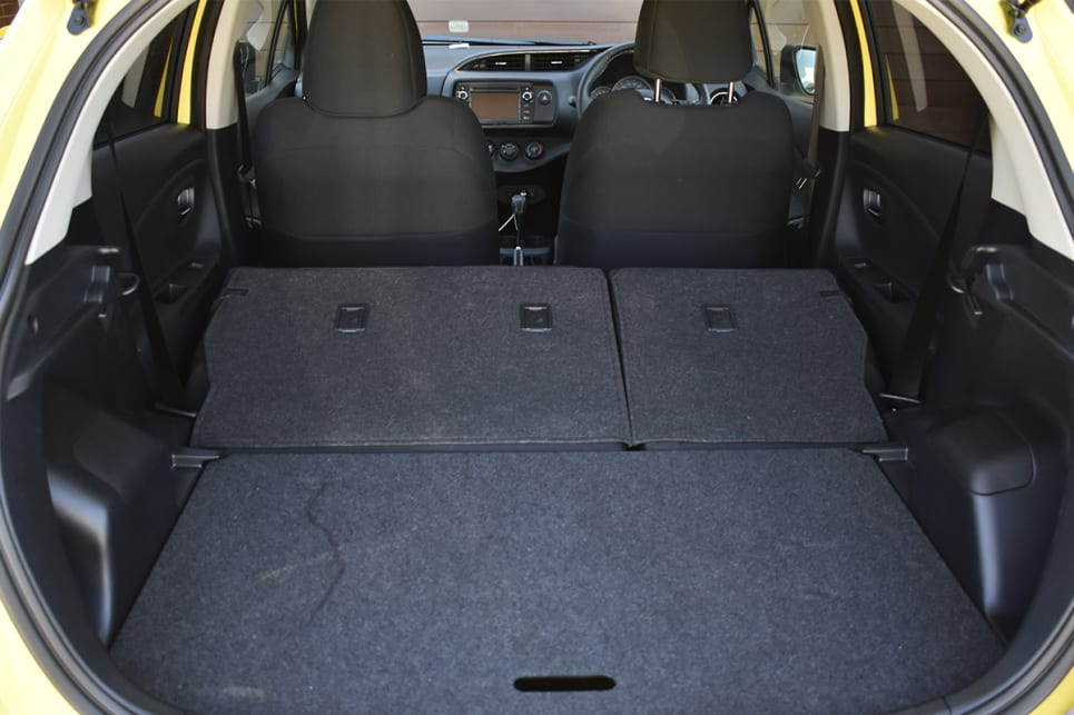With the seats down, boot space increases to 768 litres. (image credit: Mitchell Tulk)