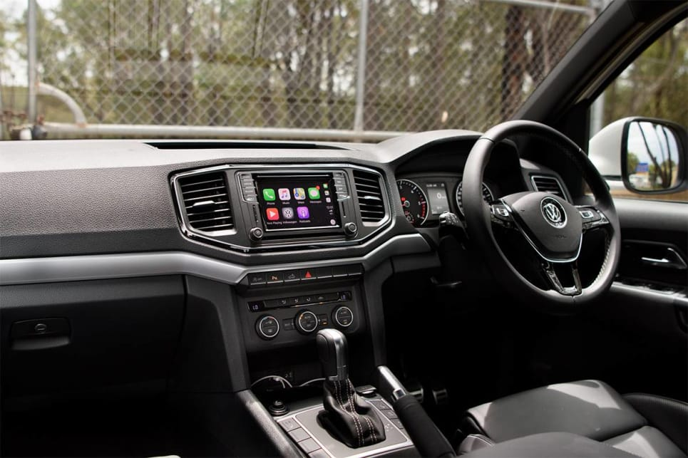 The Amarok is posher, less fussy and seemingly more focused on space and comfort than being flashy.