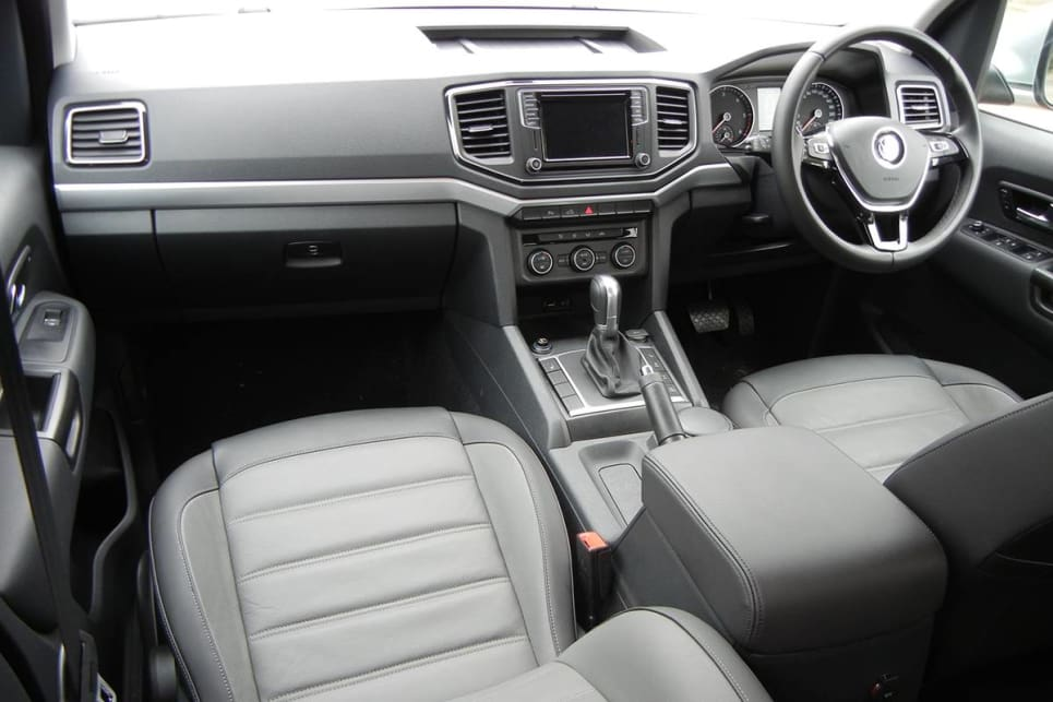 Inside there are multiple connectivity options, including sat nav, in a classy-looking cabin with 'Salipra' cloth trim.