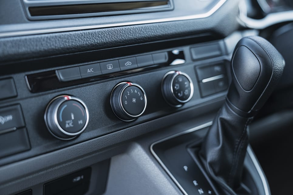 All models are equipped with single-zone climate control.