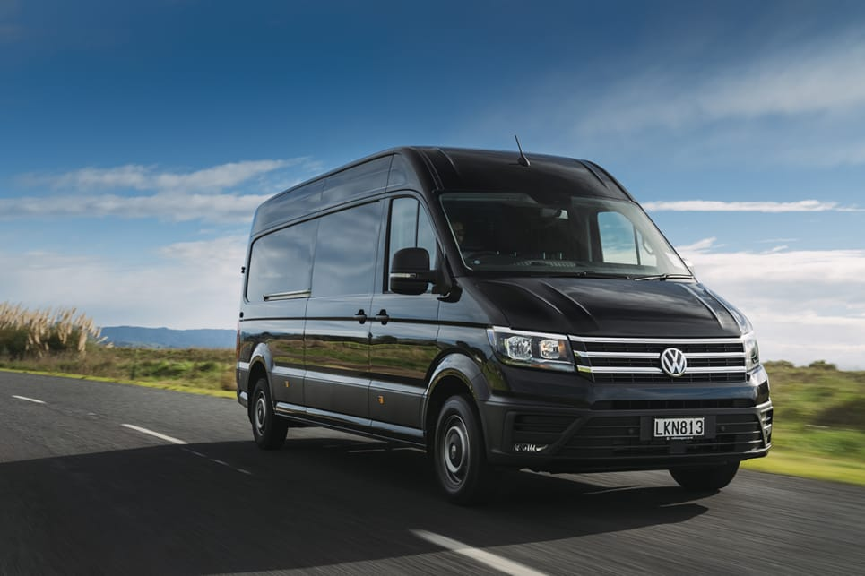 If you've driven any fairly recent Volkswagen product you'll be familiar with the operation of the Crafter.