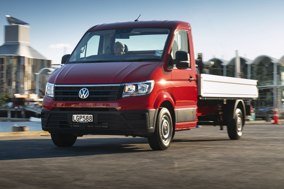 The Single Cab Crafter is priced from $48,290 and tops out at $68,290.